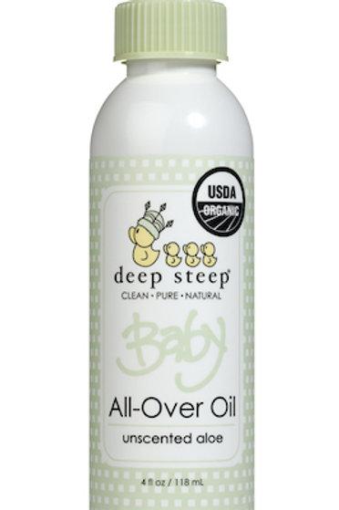 Aceite Corporal orgánico Deep Steep Baby - Aloe