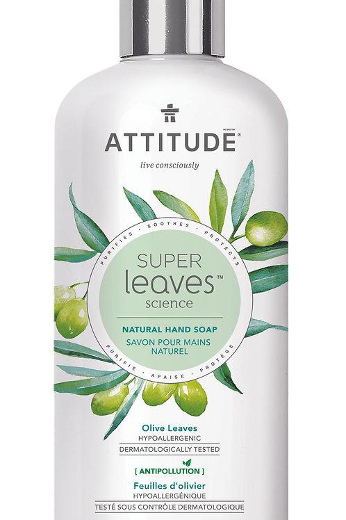 Jabón de manos Attitude - Hojas de Olivo 473ml