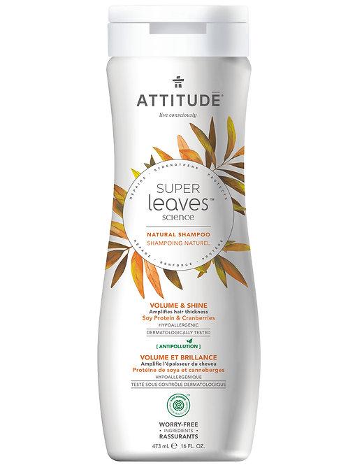 Shampoo Natural Attitude - Volumen & Brillo - 473ml