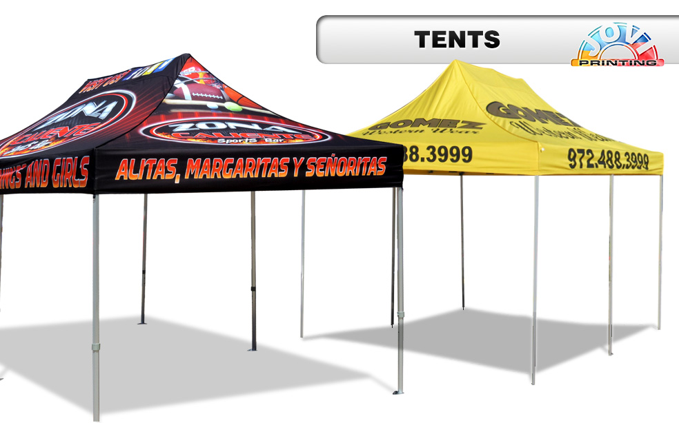 JOVI PRINTING | TENT PRINTING | HOUSTON TEXAS
