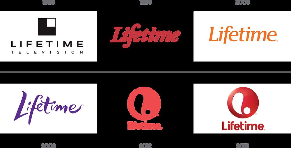 Lifetime Network logo history