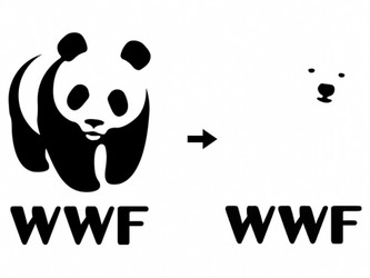 Changing the WWF Logo to a Polar Bear to Focus on Climate Change