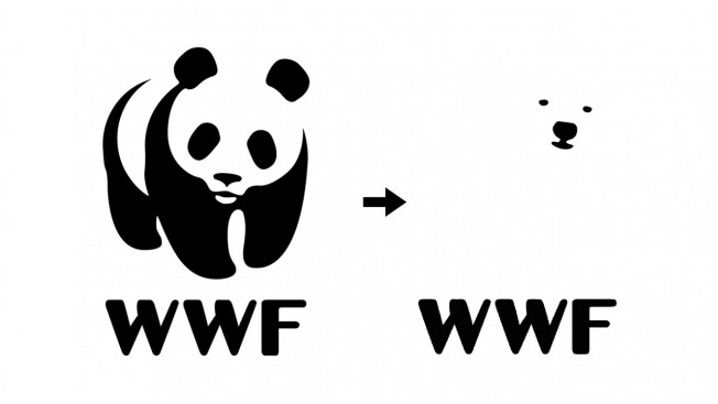 WWF logo change from panda to polar bear climate change