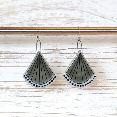 Blue & Grey Earrings