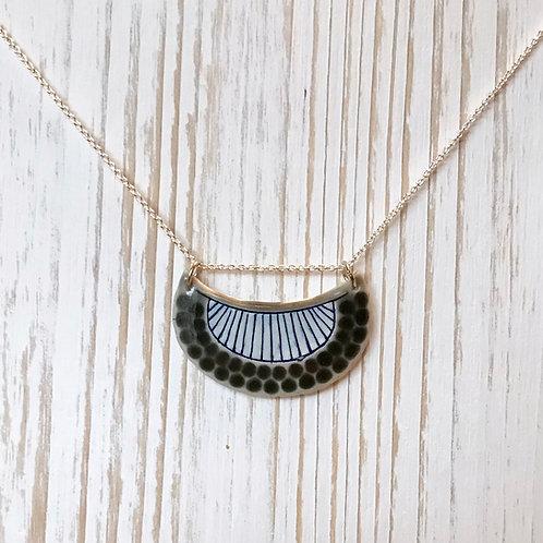 Grey & Blue Necklace
