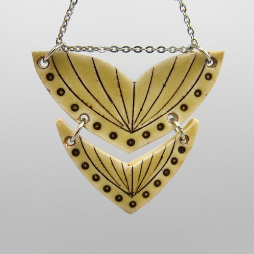 Ochre Double Necklace