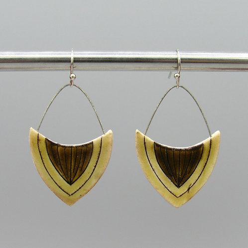 Ochre & Brown Earrings