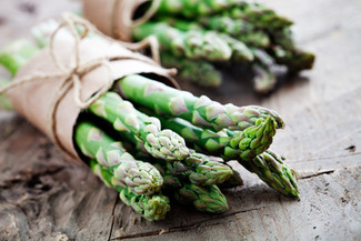 A twist on traditional salad (Asparagus!)