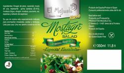 ETIQUETA GRANDE MOSTAGRE 2 SALAD