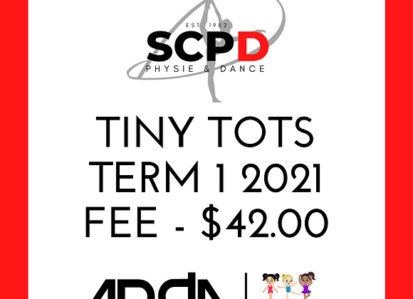 Term 1 2021 Fees - Tiny Tots