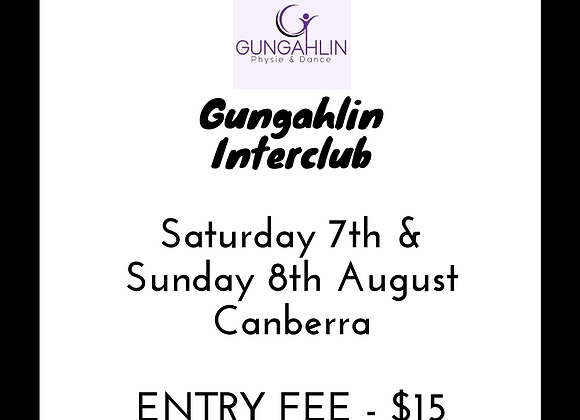 Gungahlin Interclub Entry Fee