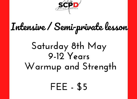 Intensive / Semi Private Lesson