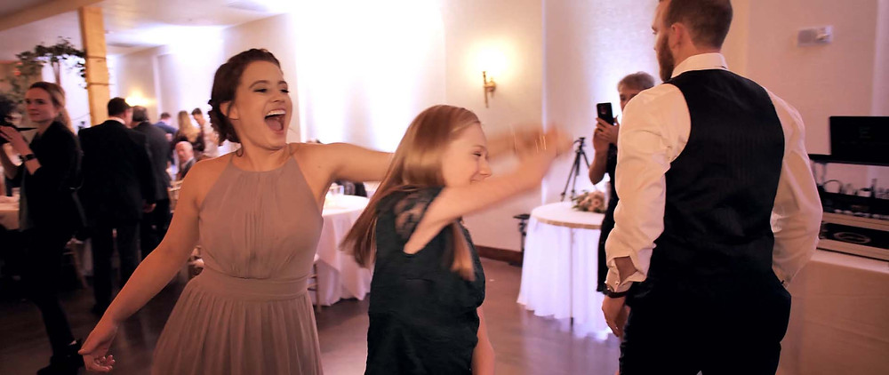 Dance with your maid of honor