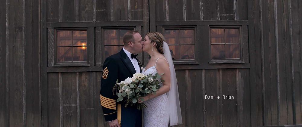 Barn wedding in Kansas City MO