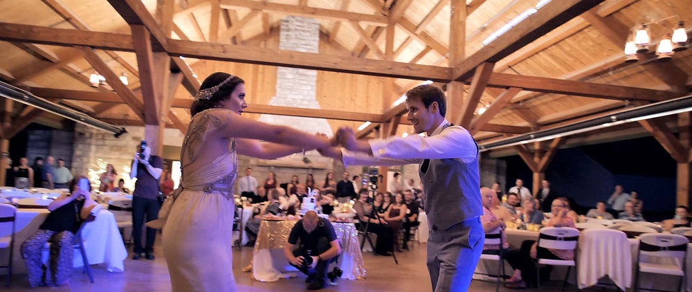 First Dance as Husband and Wife - Surprised Dance