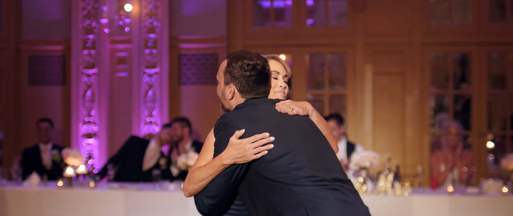 meaningful mother-son dance moment