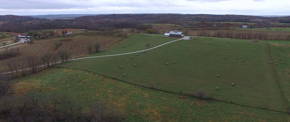 Weston Red Barn Farm - Timber Barn - Weston MO