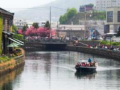 春の小樽運河 Otaru Canal in Spring