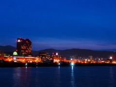 勝納臨海公園からの夜景