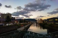 小樽運河と日没 Sunset Otaru canal