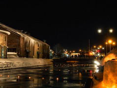 小樽雪あかりの路小樽運河