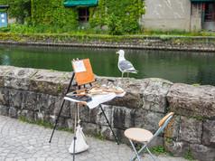 うみねことスケッチ Black-tailed gull and Sketching