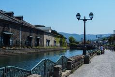 初夏の小樽運河 Otaru Canal in Early Summer