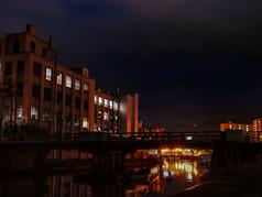 北運河の夜