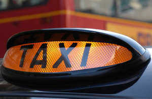 Good news for disabled taxi users?