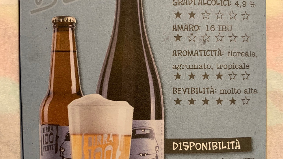 """birrificio 120"" bianchina  75 cl ( 4,9% )"