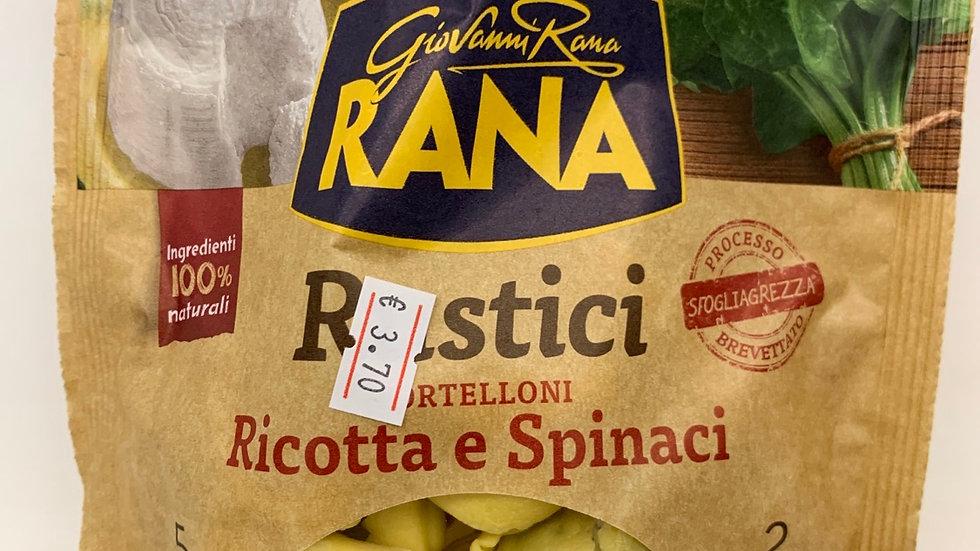 Rustici rana tortelloni ricotta e spinaci
