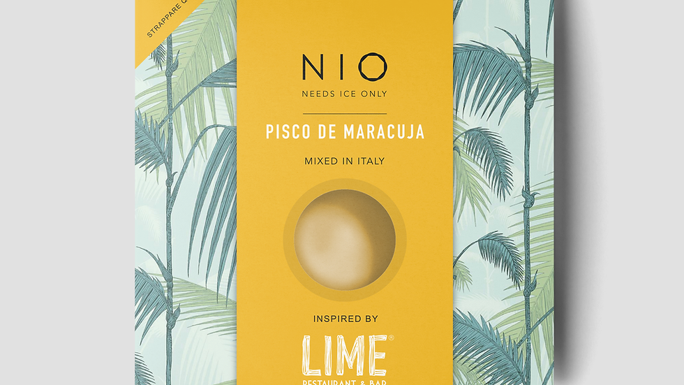 Nio Cocktail PISCO DE MARACUJA