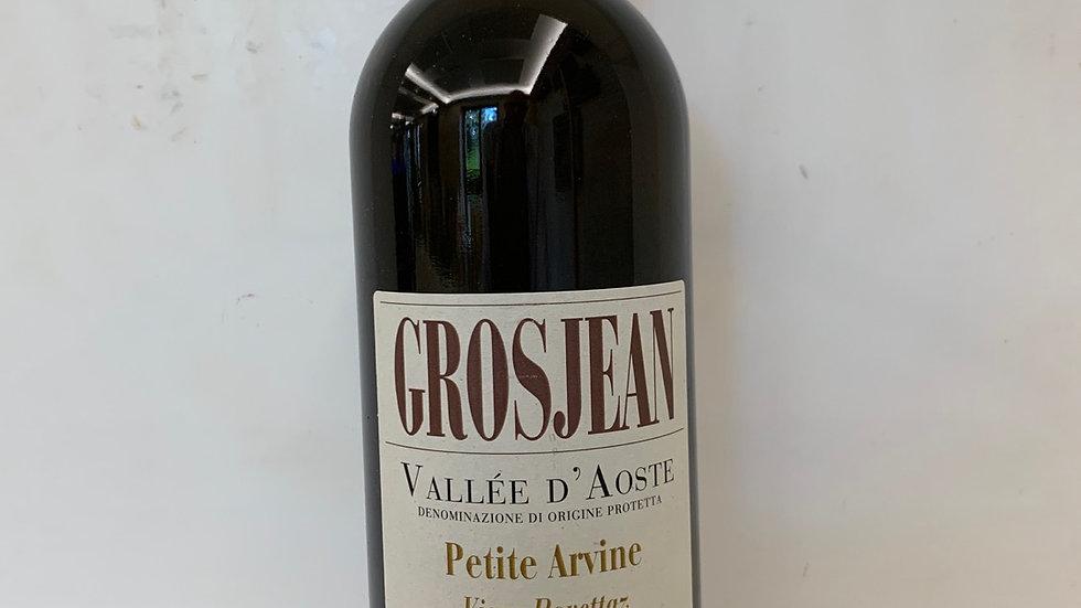 PETIT ARVINE Vallée d'Aoste 'Vigne Rovettaz' - Bio - DOC   2018Grosjean