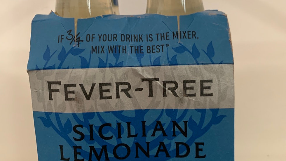 Tonica fever tree sicilian lemonade  per 4