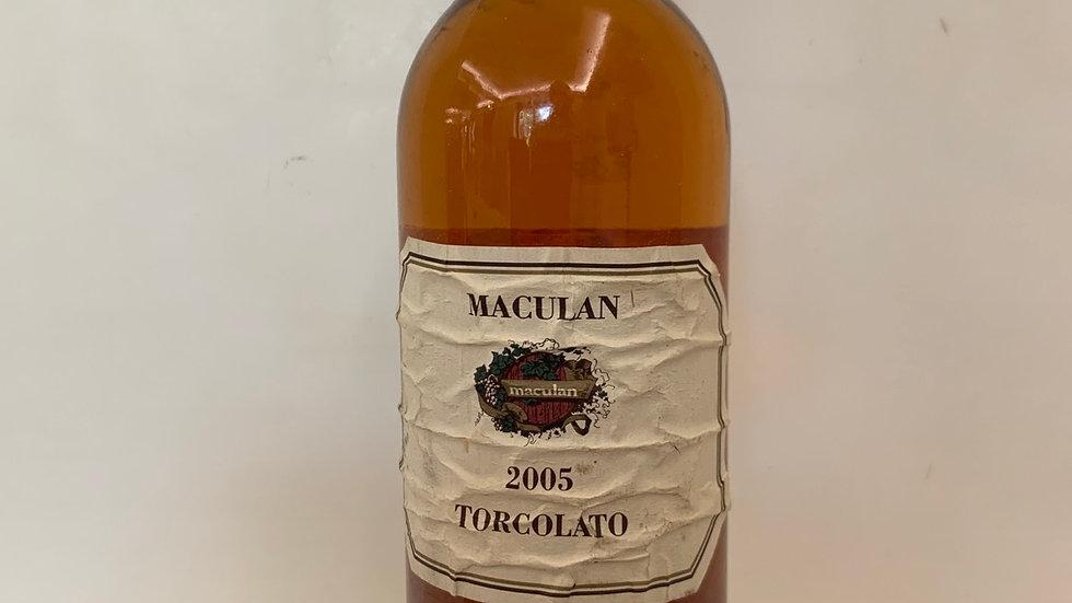 TORCOLATO Breganze   DOC    37,5cl2005Maculan