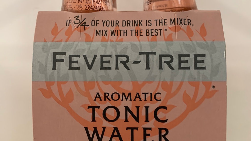 Tonica fever tree aromatic  per 4