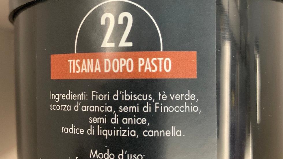Tisana dopo pasto n 22