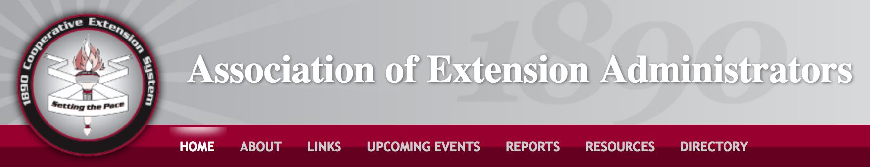 Association of Extension Administrators
