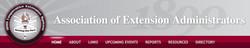 Association of Extension Administrators