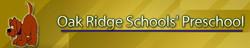 Oak Ridge Schools Preschool