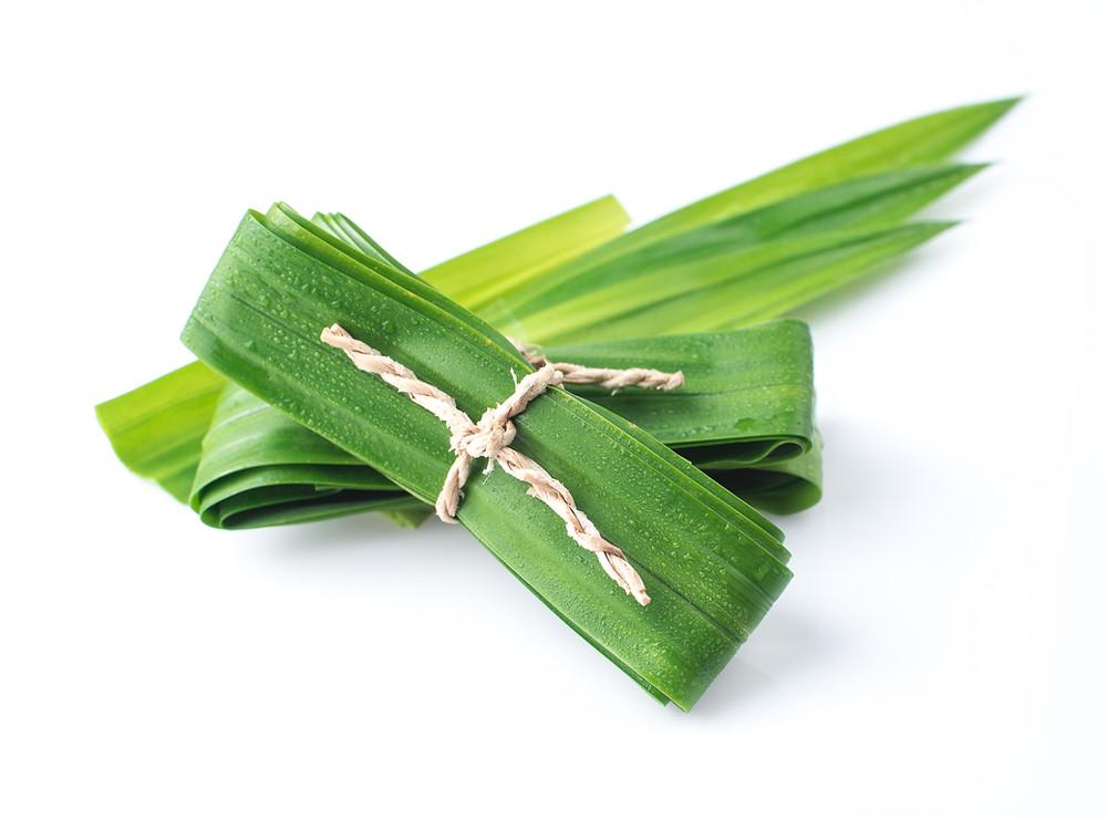 Pandan leaf is often used in Thai Cooking