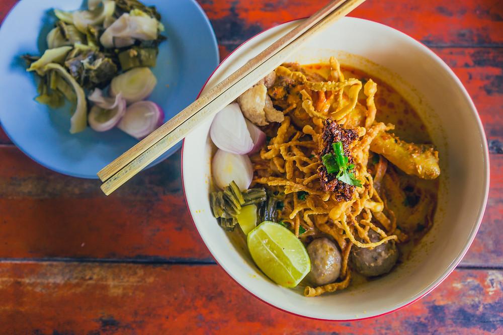 Chicken Khai Soi