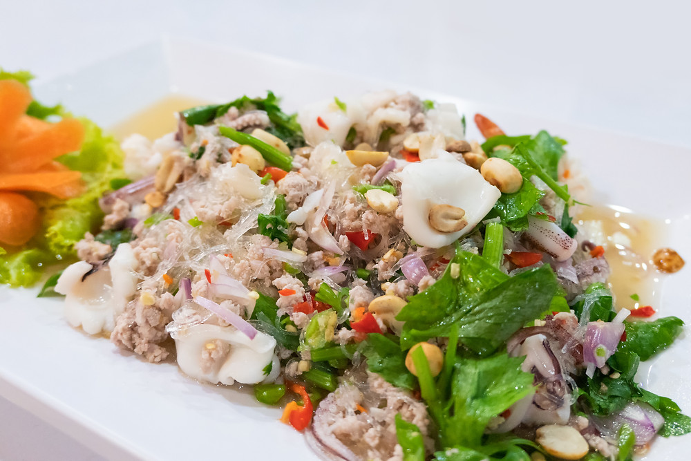 Yum Woon Sen - Glass Noodle Salad