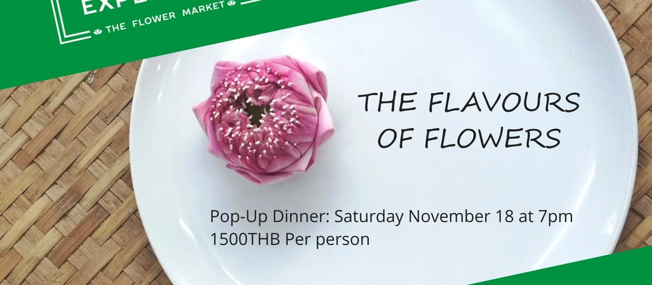 Special Event: The Flavours of Flowers - Pop-up Dinner