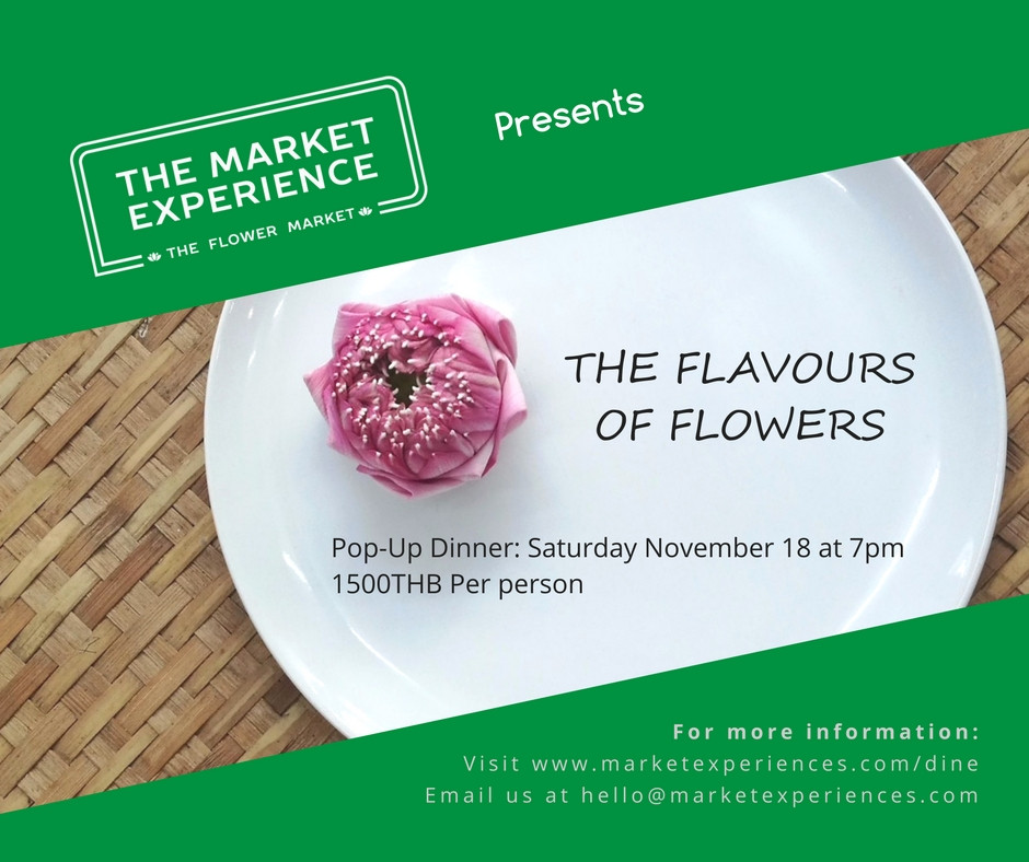 The Flavours of Flowers Dinner