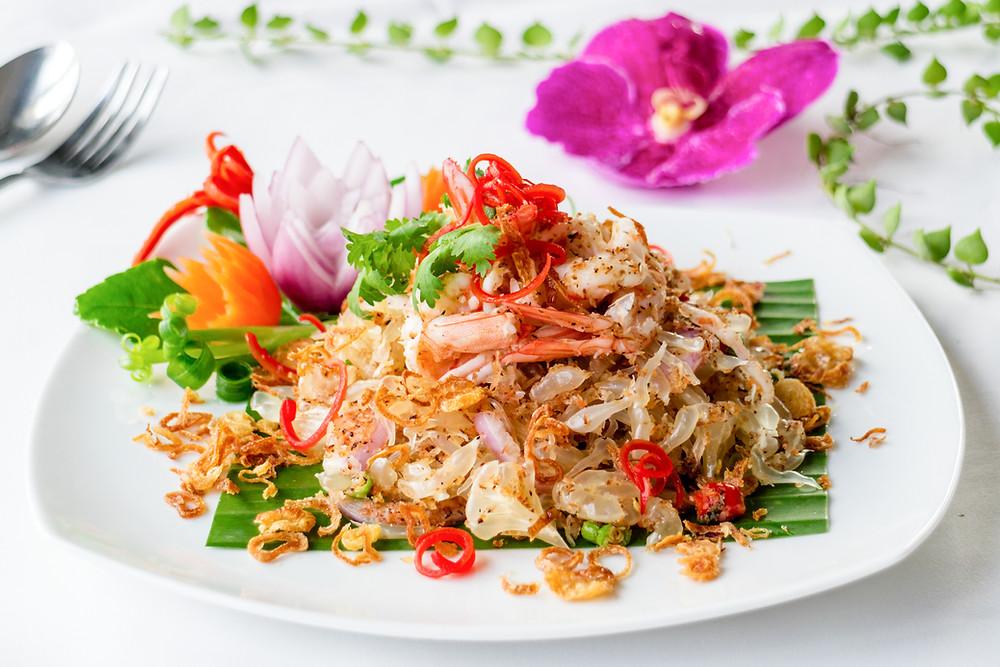 Yum Som-O - Pomelo Salad