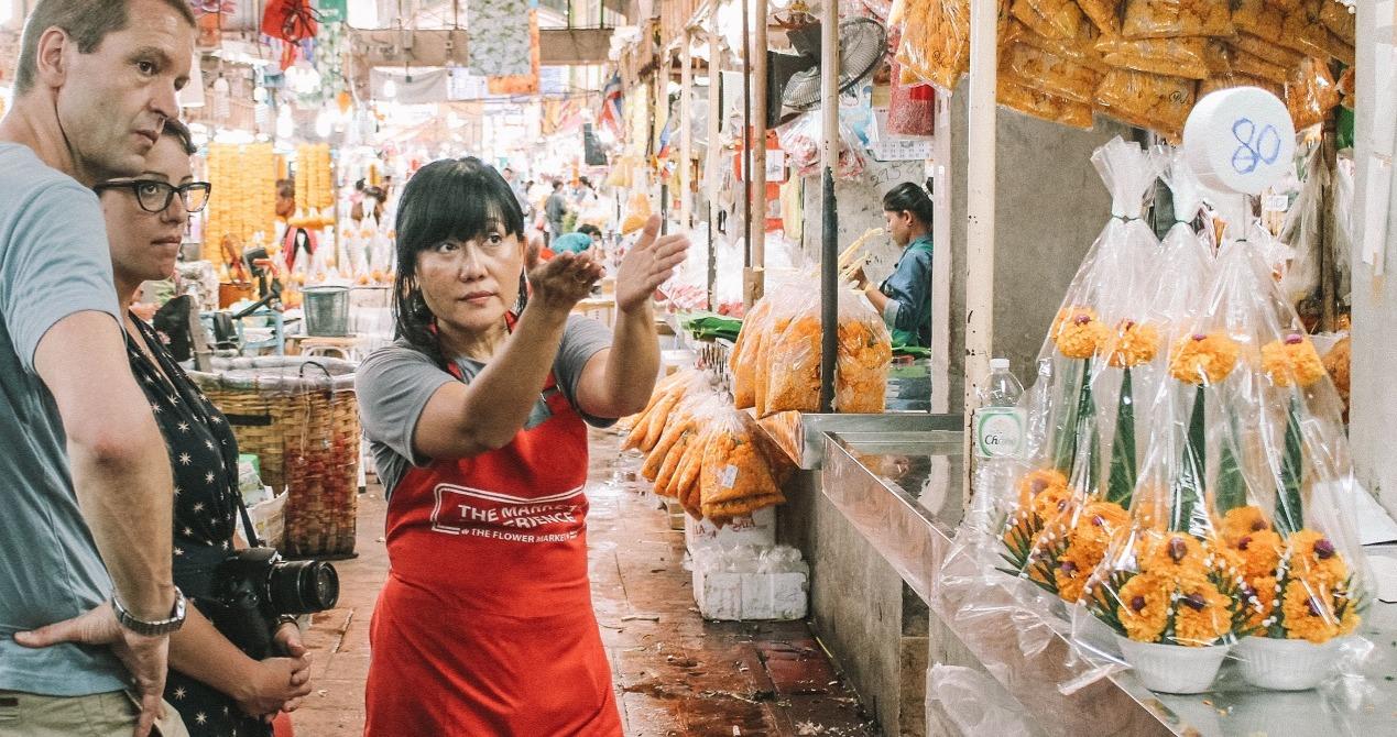 Bangkok Flower Market Tour
