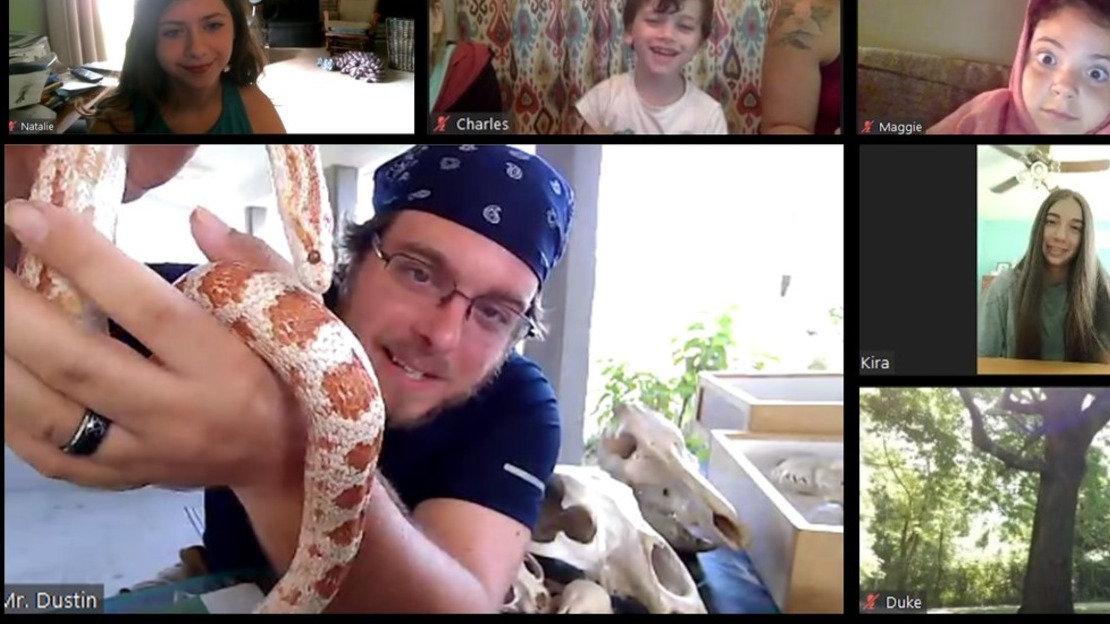 Virtual Class Visit - Snakes and Skulls