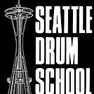 Full Seattle Drum School Logo inverted.j