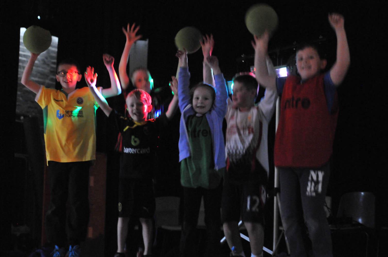 We still love Disco Dodgeball!